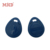 MDK3 MF1 s50 nfc 13.56mhz round plastic rfid key tags with metal ring