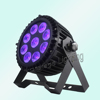 Ip65 wireless dmx 9x12w rgbwa + uv 6in1 battery powered led par,light for stage decoration