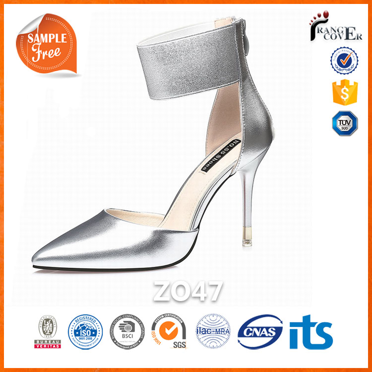 2017 Dropship Products D'orsay Women Ladies Pu Pump Shoes high <strong>heel</strong>