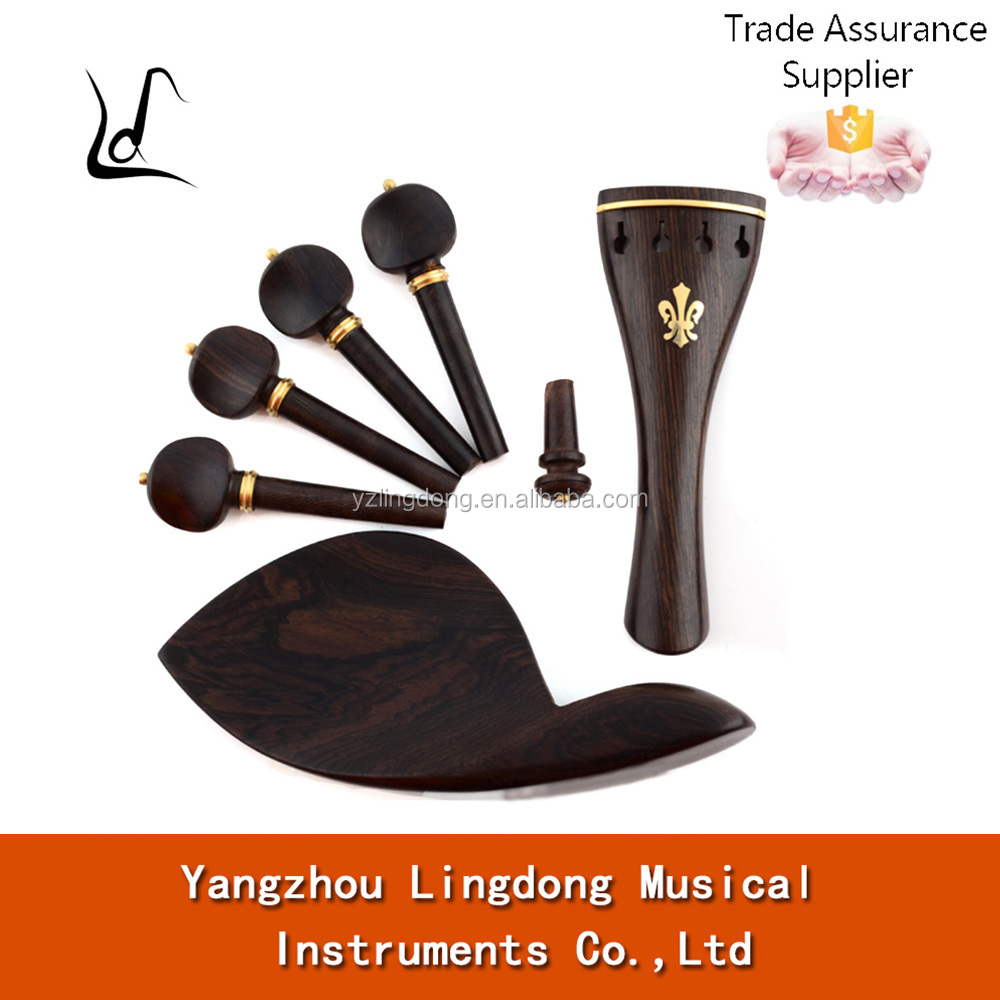 high grade violin ebony accessaries