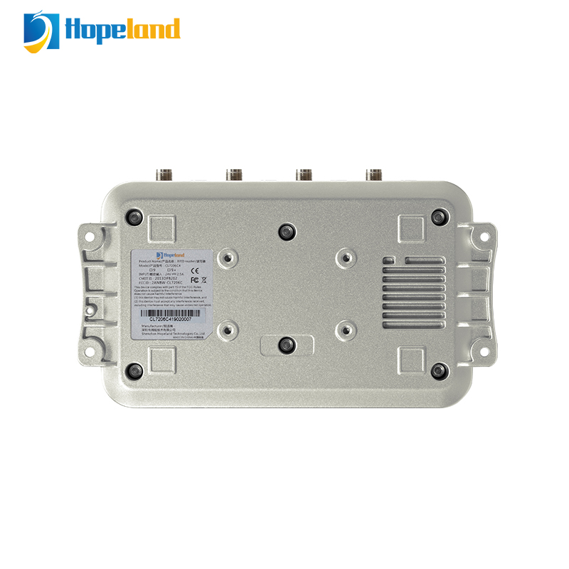 IOT RSSI 4 PORT long distance proximity rfid reader uhf CL7206C4