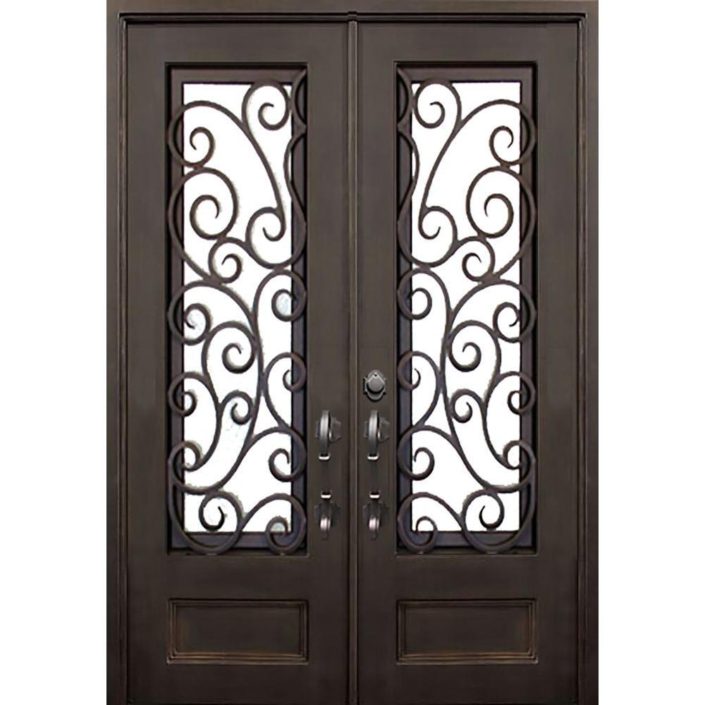 Wrought Iron Front Double Door Designs Modern Interior Doors Buy