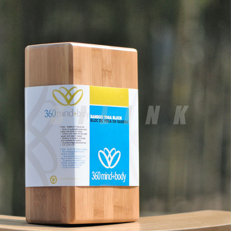 Bilink Factory Price High Quality Custom Brands Wooden Bamboo Yoga