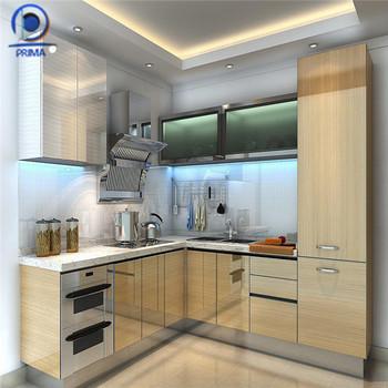 Kaca Dapur Pintu Desain Kami Alat Umum Kabinet Jati Pengo Kayu Lemari