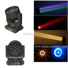 19*15w bee eye moving head stage led lighting
