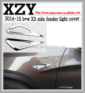2014-15 B*W X3 side fender ligh cover, side fender light trim X3