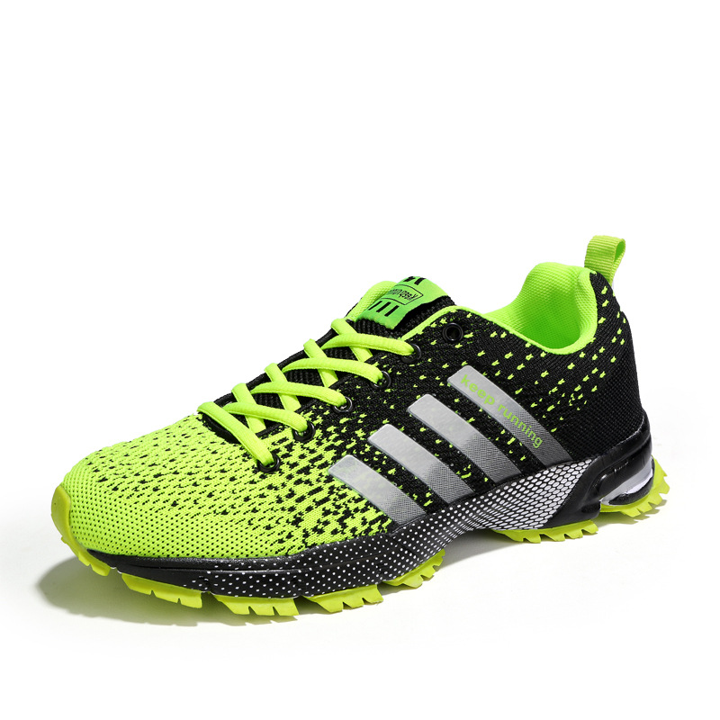 Amazon new marathon sports men's shoes couple models  cushion shoes running shoes