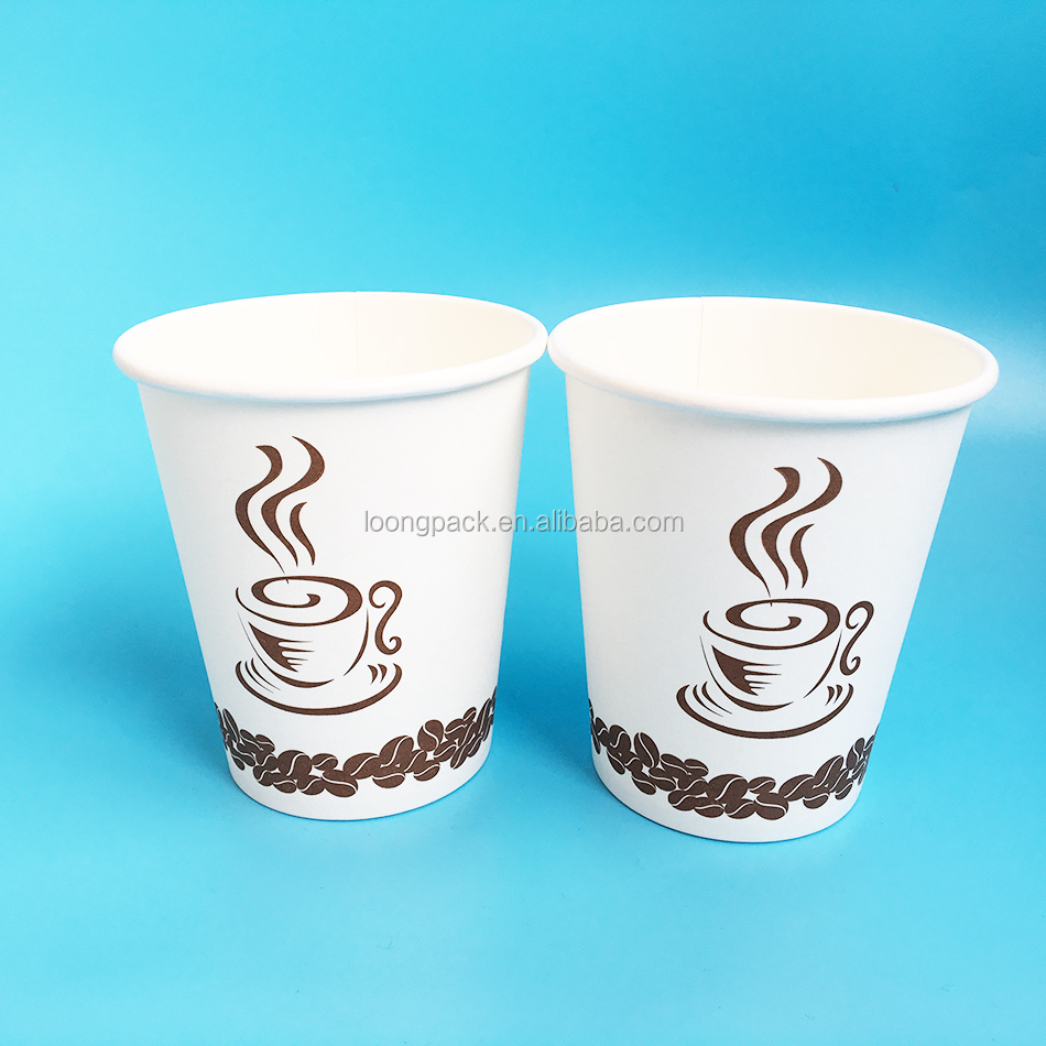 powder coated custom Paper coffee Cups