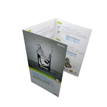 Premium A3 A4 A5 Trifold Commercial Catalogue /Brochure Printing