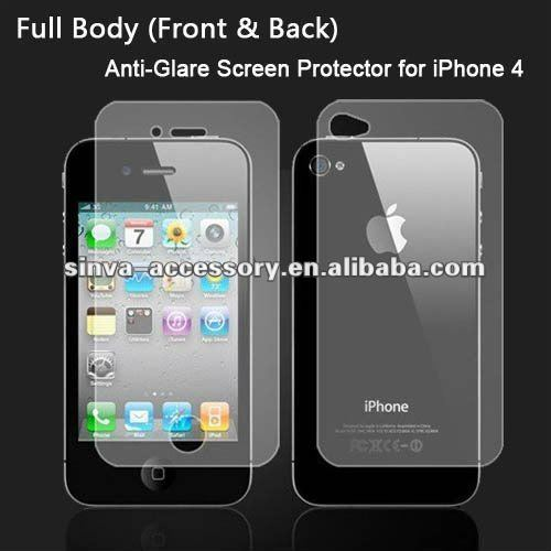 Factory Supply---apple iphone 4 4S 4G LCD Screen Savers Protector Guard