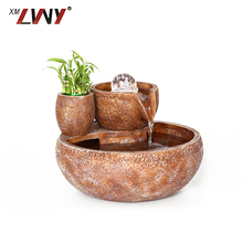 Luxury Customized Table Fountain Item For Office Decoration