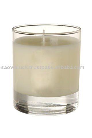 Organic Scented Candle 100 % Natural Organic Palm Wax