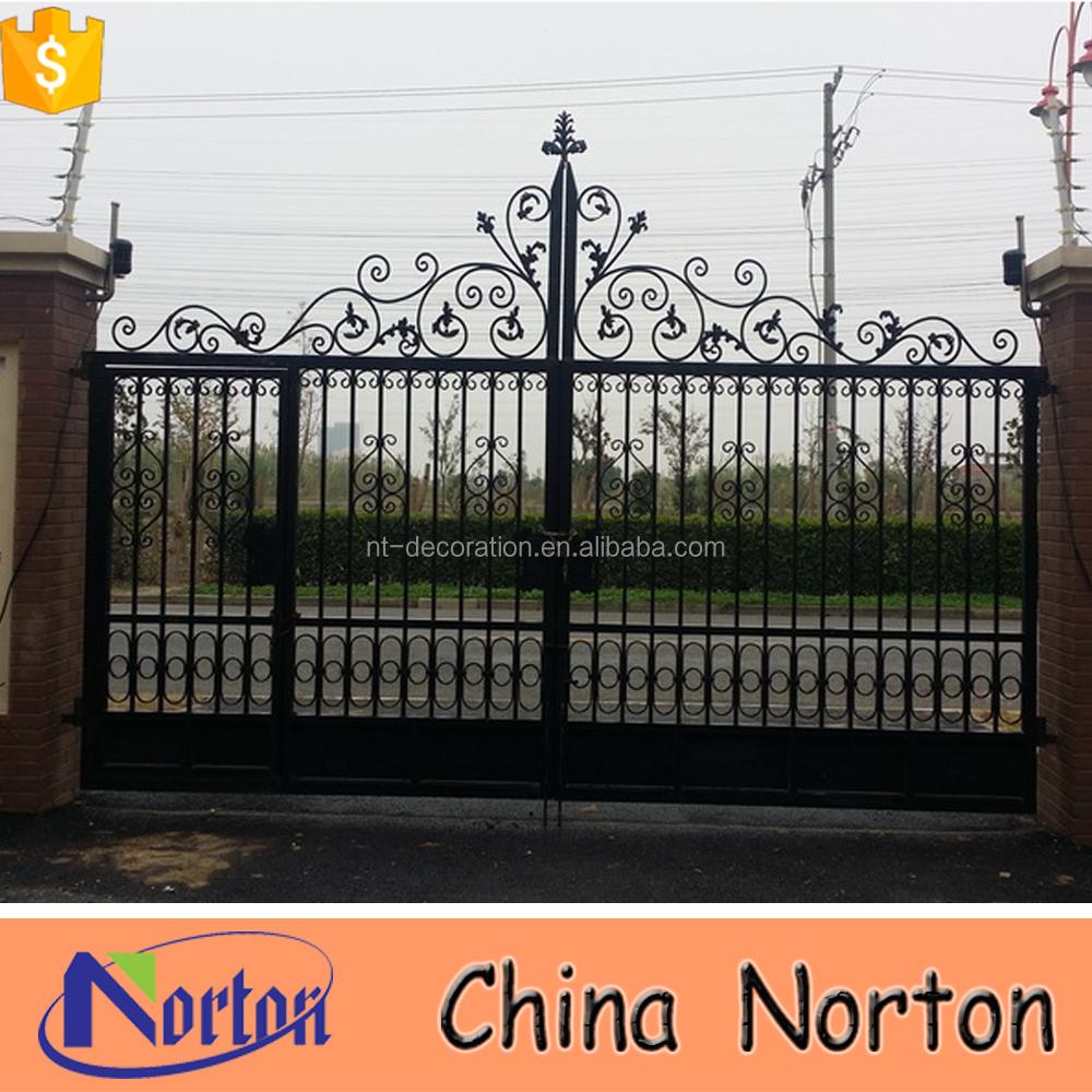 Home Design Gate Ideas: Garden/villa Modern Iron Gate Designs Ntirg-014s