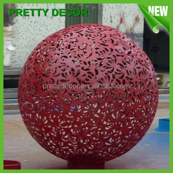 Pretty Decor Large Decorative Garden Balls