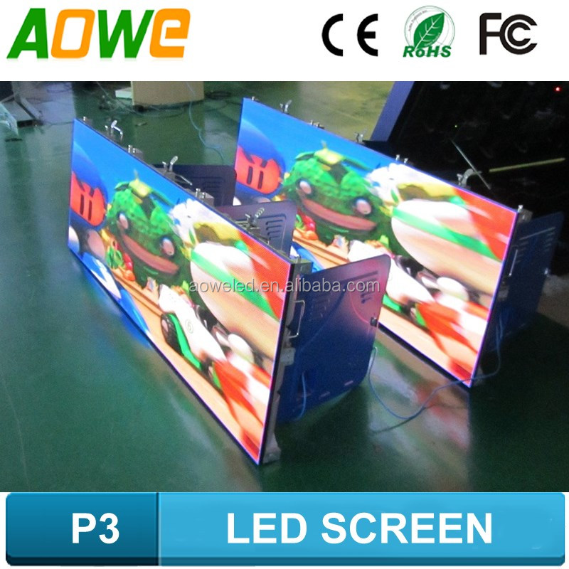 Energy saving full color HD LED led display board project