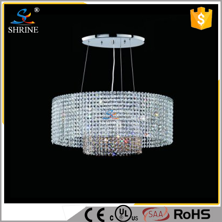 Modern Crystal Chandelier Lights Indian Pendant Lighting And Clear Light GU10 Led Ceiling Lamp Model SC0015