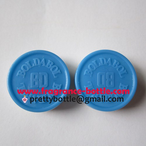 British Dragon custom logo tear off light blue caps 20mm