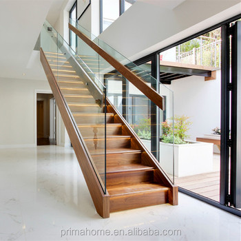 Superieur U   Shaped Wood Staircase Stairs Design Inside House