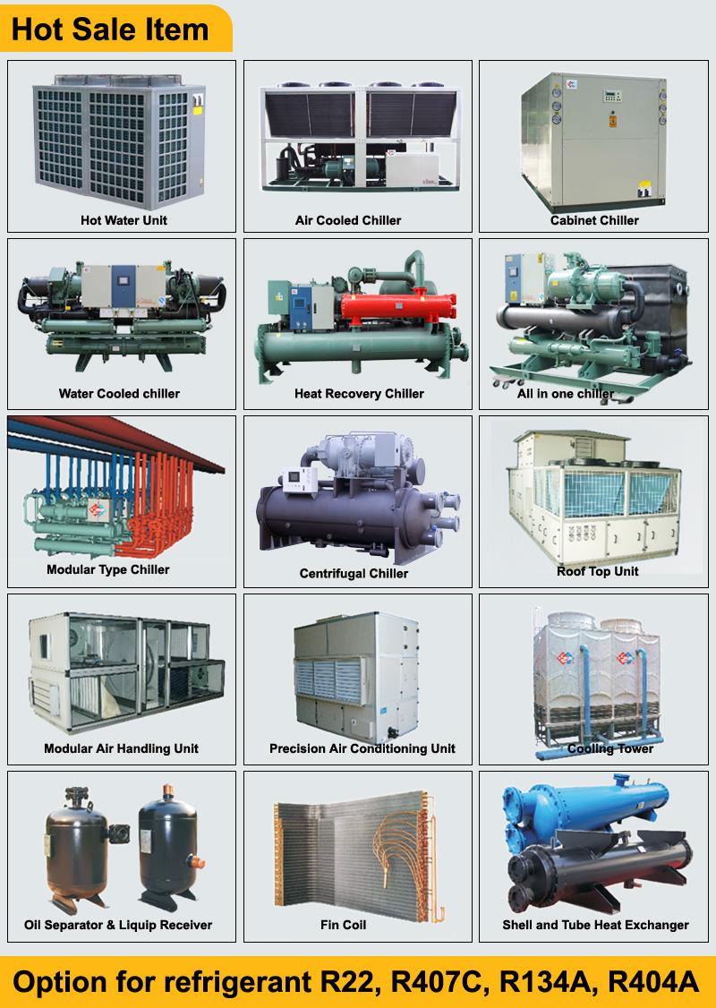 A basso costo ad alte prestazioni di birra chiller, refrigeratore industriale, raffreddamento ad aria chiller