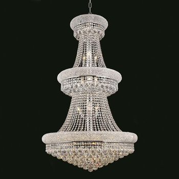 Luxury Modern Crystal Chandelier For High Ceilings Lt71006