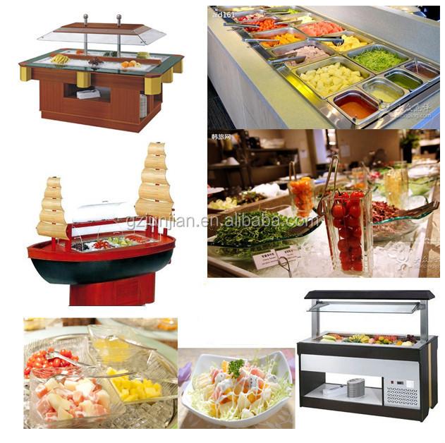 Used Restaurant Equipment For Sale/ Salad Bar/commercial