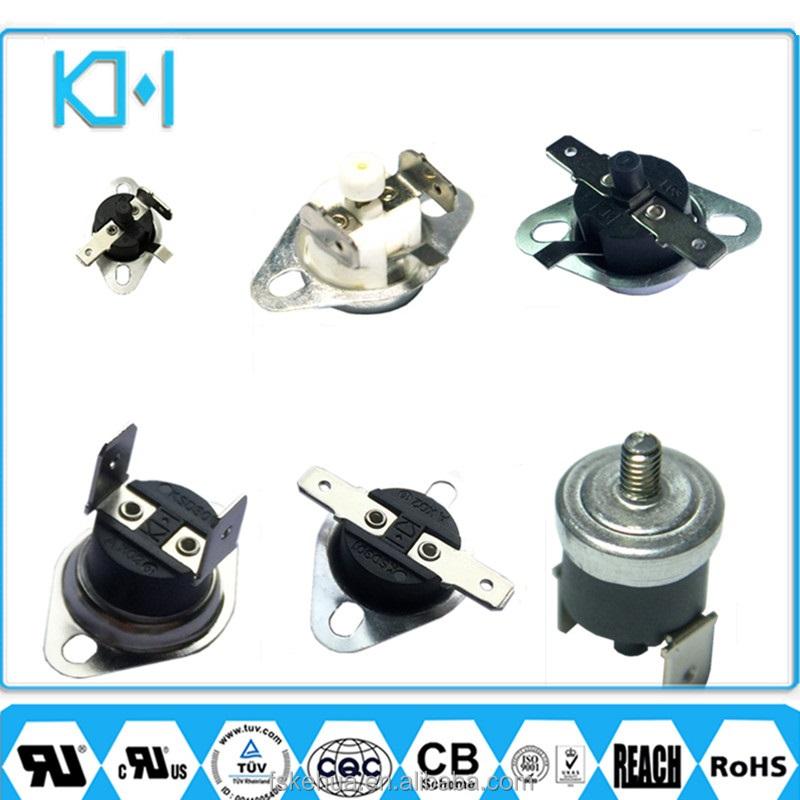 45 ° C-140 ° C NO//NC Thermostat thermique Temperature Control Switch KSD301 250V10A