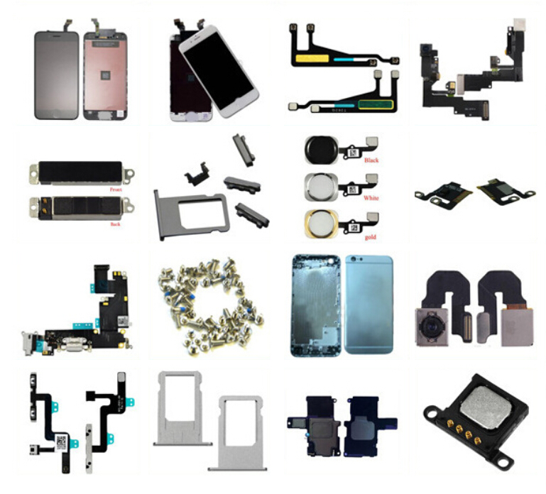 100% High Quality Mobile Phone Spare Parts LCDS Flex Para Celular for iPhone