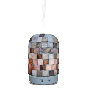 Incense burner mosaic glass nebulizer electronic aroma oil diffuser