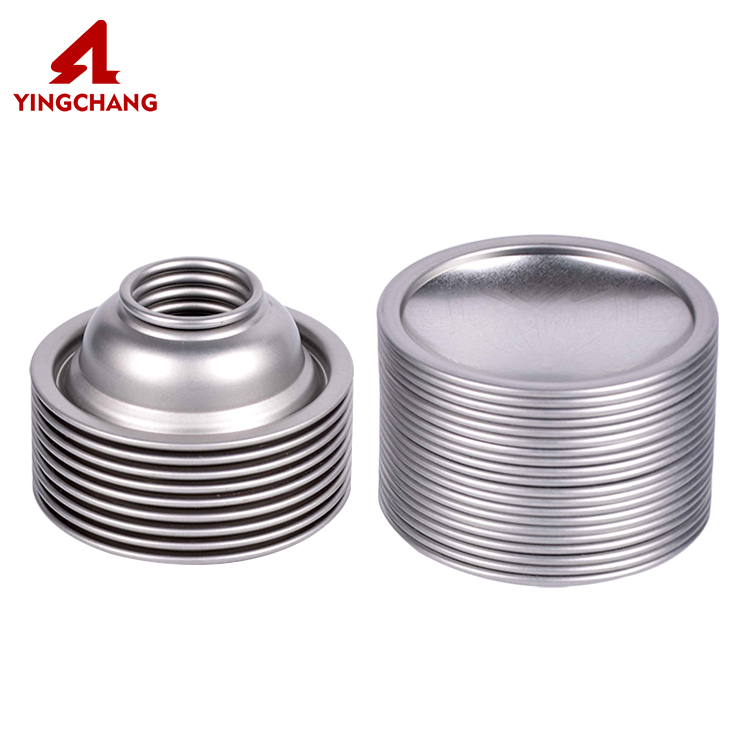 Wholesale best quality tinplate aerosol cans cone and dome
