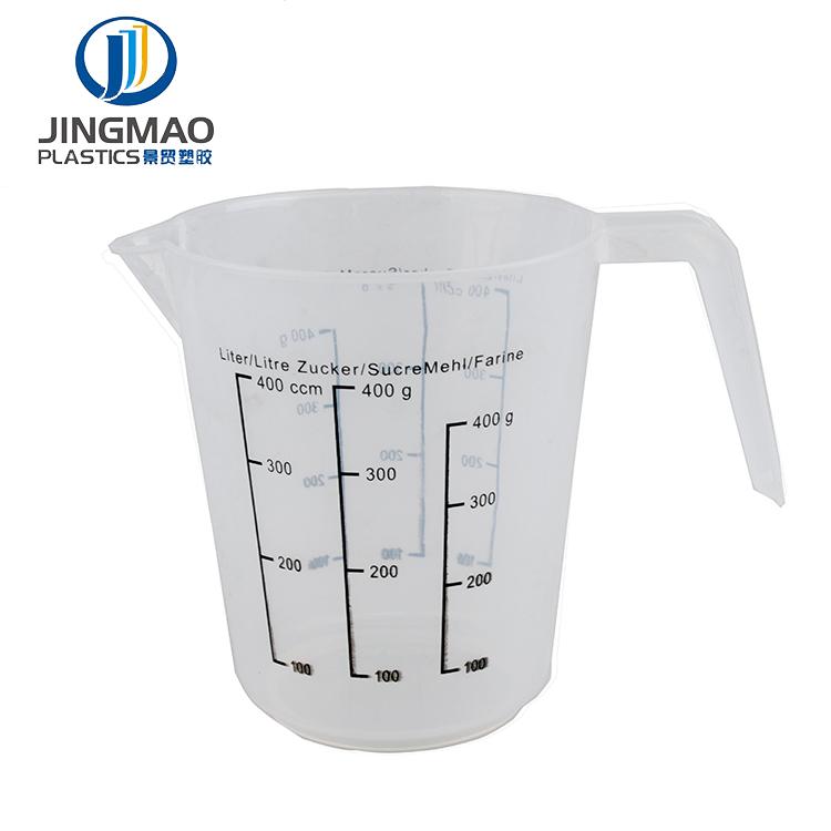400ML, 600ML, 800ML Kunststoff Messbecher Krug Ausgießer Oberfläche Küche Werkzeug Liefert