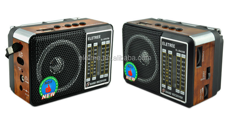 China Supplier Am/fm/sw/tv 5 Band Mp3 Radio With Usb Sd Player El ...