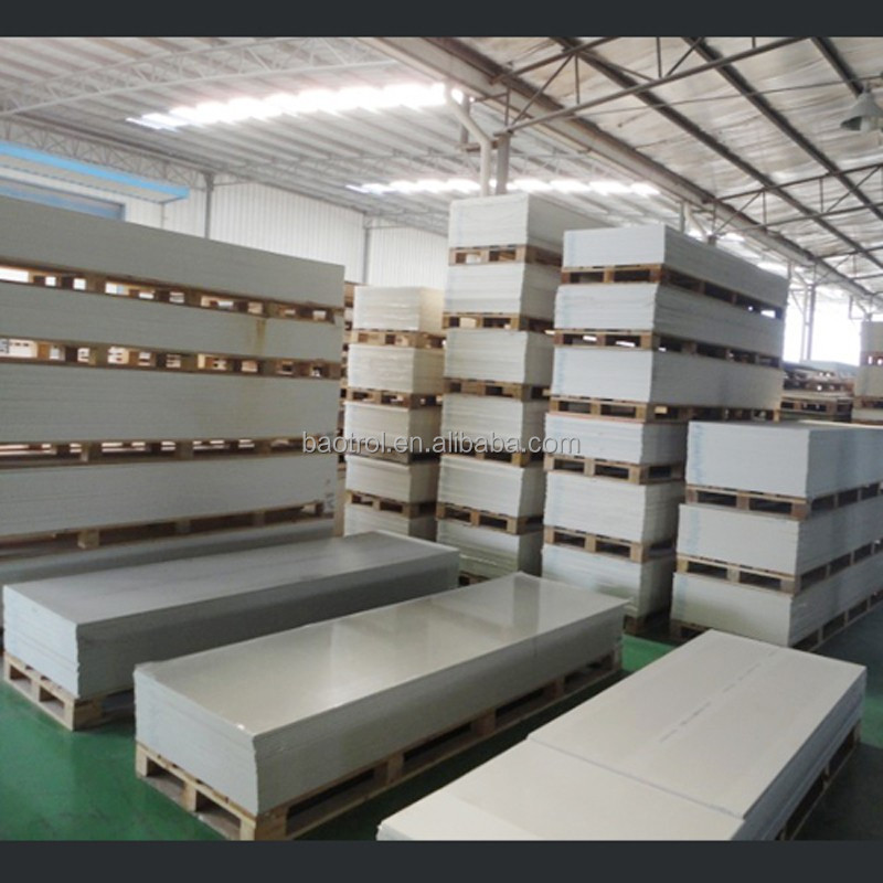 Baotrol artificial stone acrylic sheet molding machine made acrylic sheet scrap customized acrylic solid surface sheet