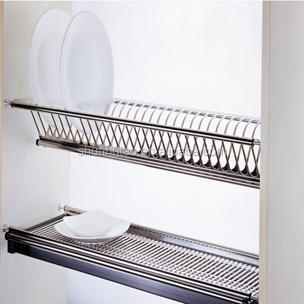 Used Practically Dish Rack Kitchen Cupboards,Kitchen Cabinet Plate ...