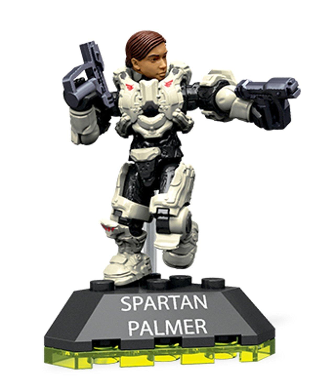 Buy Mega Construx Halo Heroes Spartan Palmer Figure, Series
