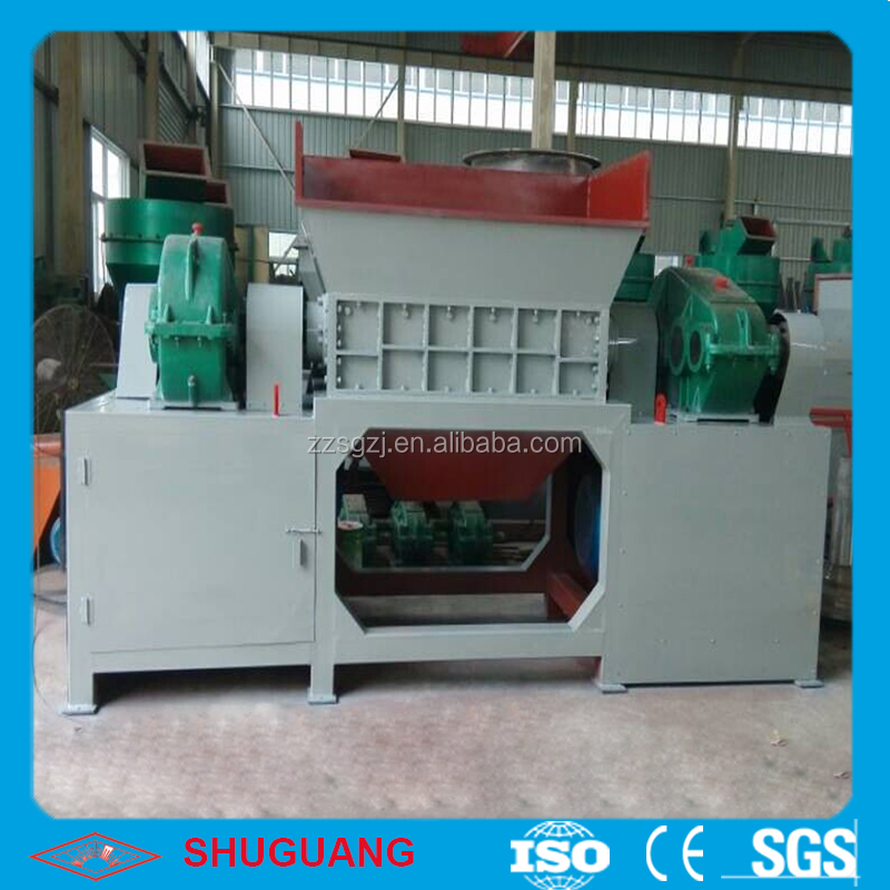 Specilized Technology Used Scrap Oil Filter Shredder