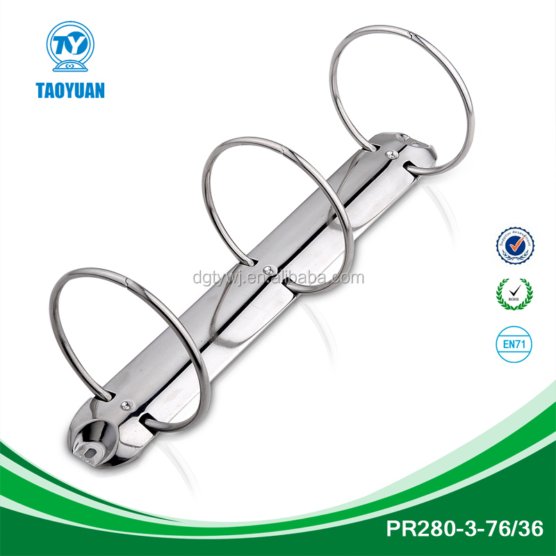 Alibaba China Suppliers 3 Ring Binder Clip,Metal Book