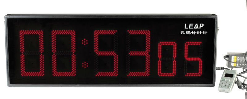 2012 New LEAP 1/100 Sec 6 Digits LED Counter Display