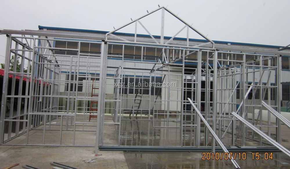 sandwich panel steel structure prefabricated house