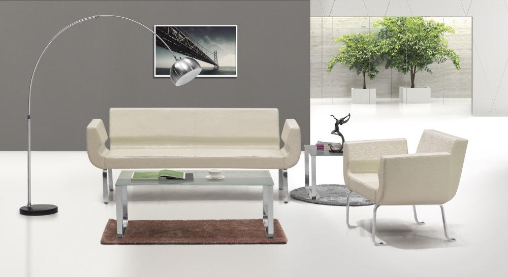 Moderne en cuir bureau meubles canapés de bureau pour salle de