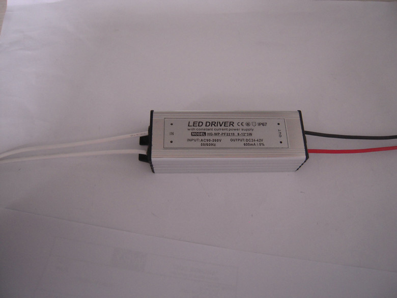 waterproof constant current 8 123w gm supply power 600ma with ce