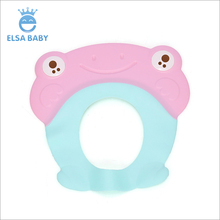 New design child bathroom products hair wash baby shower cap for kids