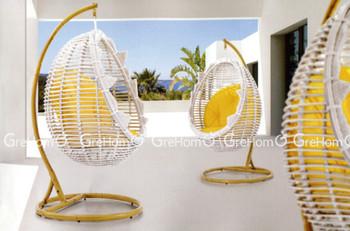 Patio Garden Hanging Swing Bubble Chair