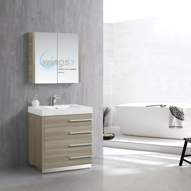 Wood cabinet factory single sink bathroom vanity   WINGS3. Buy Cheap China factory bathroom Products  Find China factory