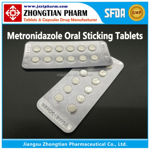 Metronidazole Oral Sticking Tablets GMP Manufacturer