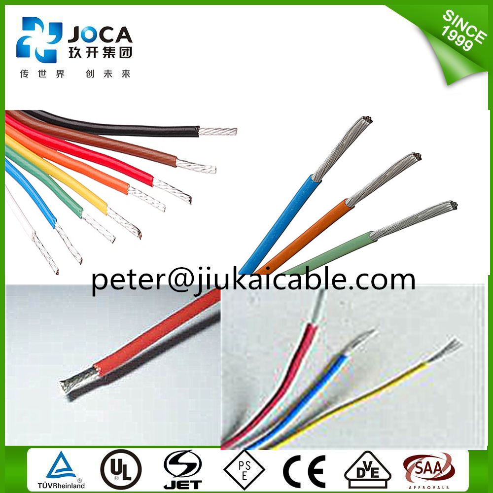 Lower Price Etfe Pfa Ptfe Fep 200 Degree Insulated Shield Wire - Buy ...