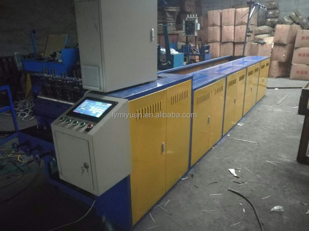 Full-Automatic Scourer Making Machine For Spiral Scourer