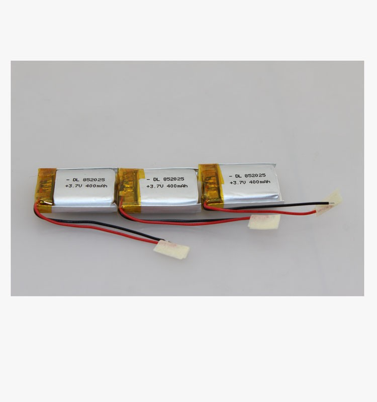 3.7v 320mAh rechargeable li-ion polymer battery with UN38.3 test report