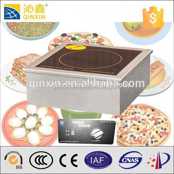 High Efficiency Induction Wok Burner Efficiency Tabletop 5kw Induction  Cooker