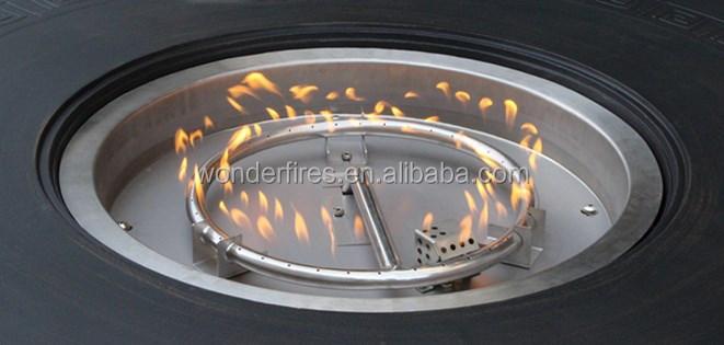 outdoor-feuerstelle tisch/terrasse gasheizung/garten feuerstelle, Garten seite