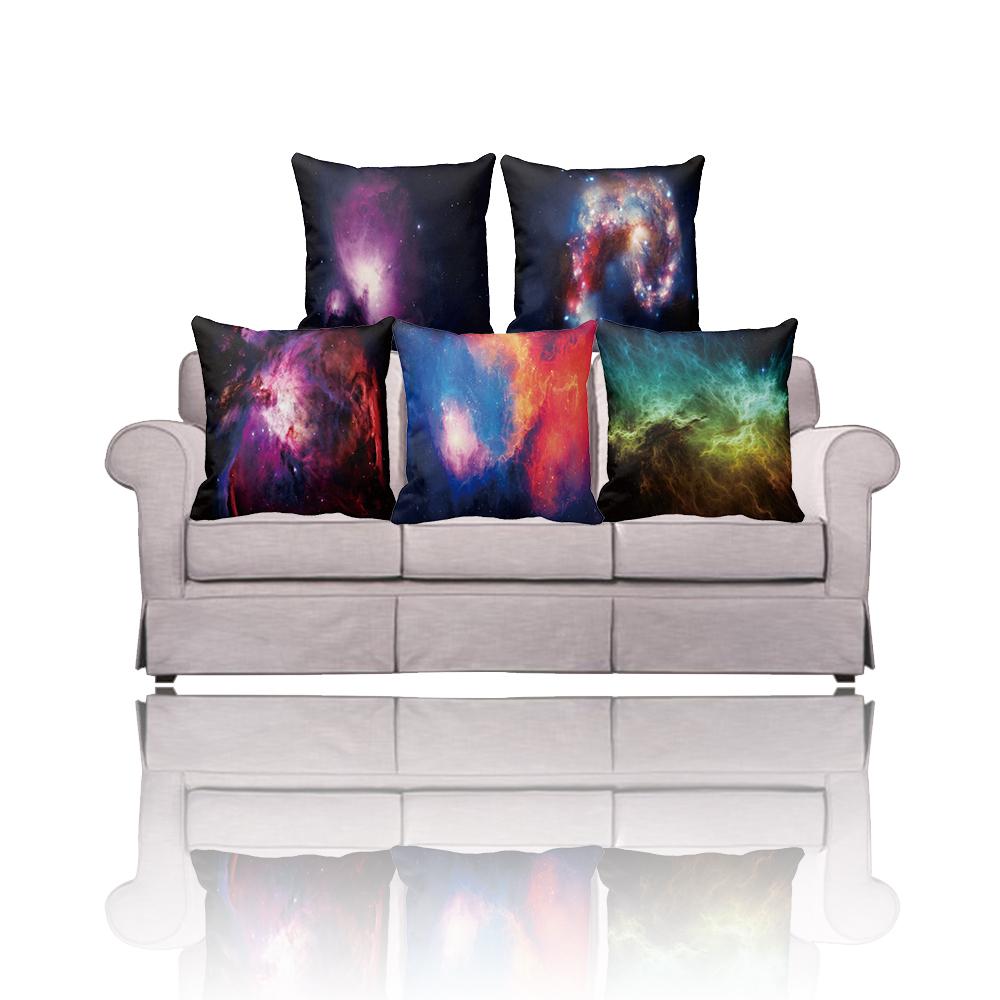 Get Quotations · Amazing design Nebula Galaxy Throw pillow Cushion coverCustom make any pattern printed hold Pillow